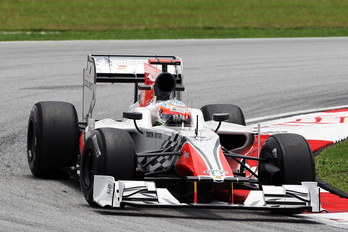motor racing results f1