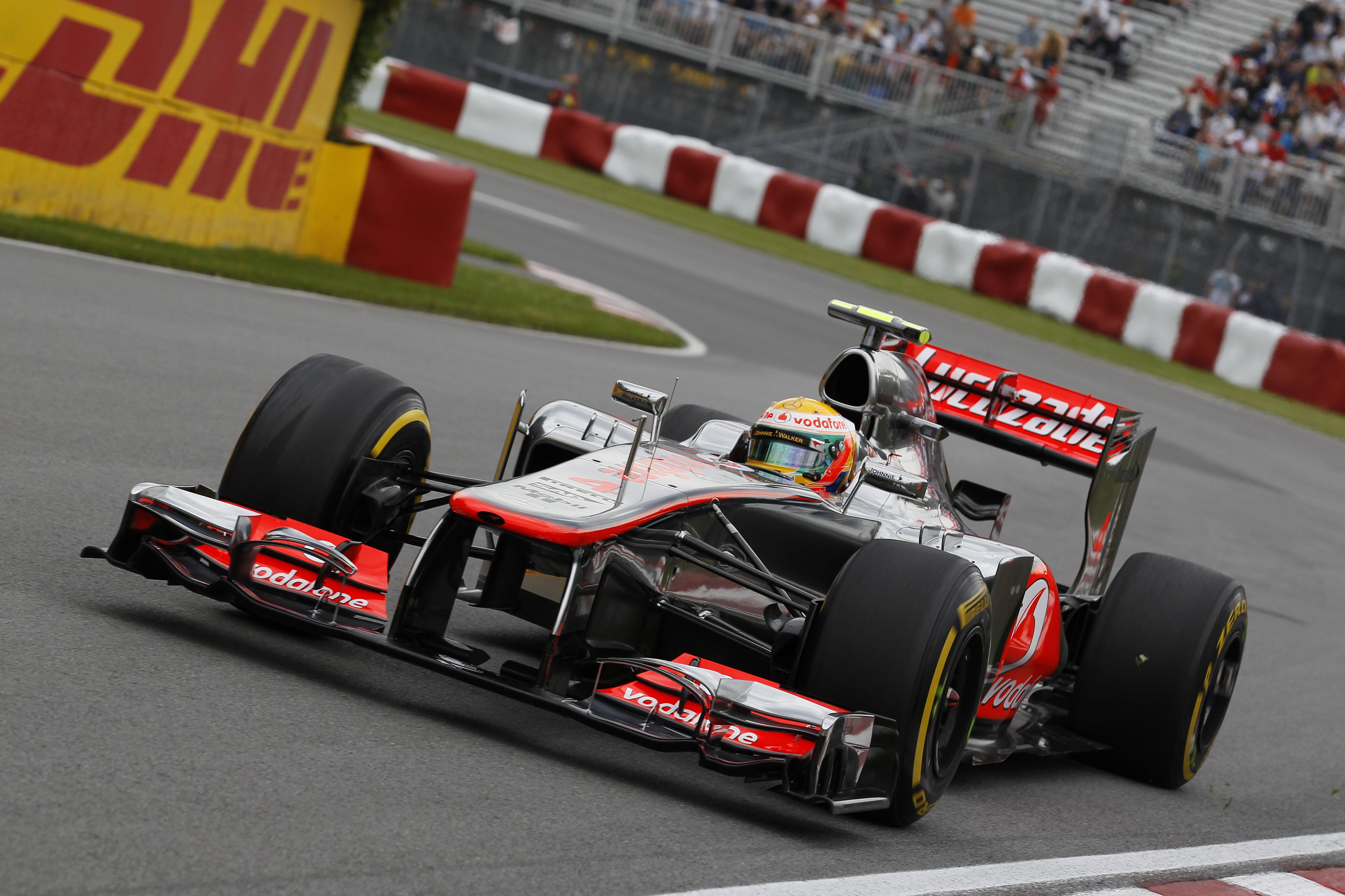 F1 2012 Canadian Grand Prix Practice Vodafone Mclaren