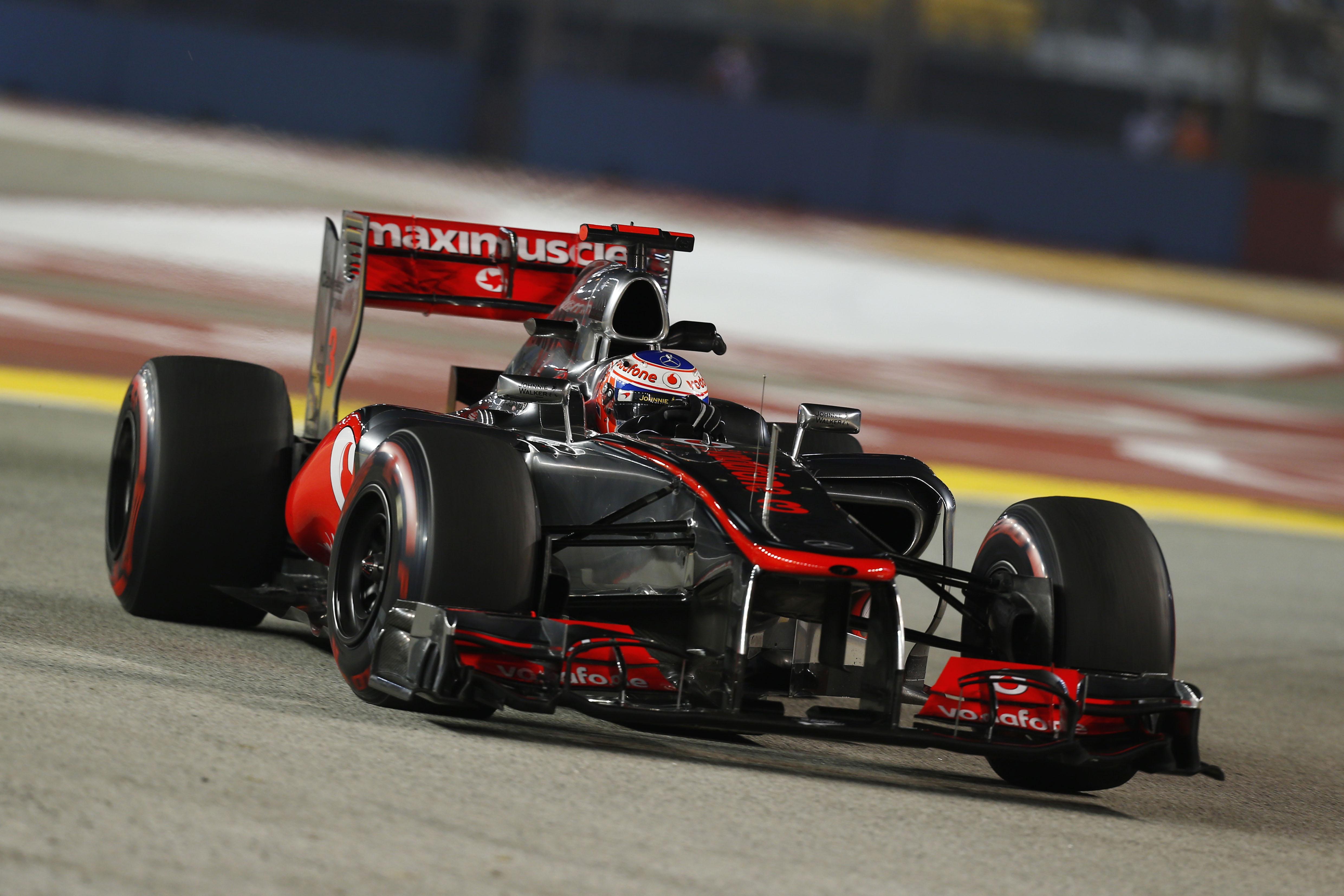 F1 2012 Singapore Grand Prix Results Vodafone Mclaren