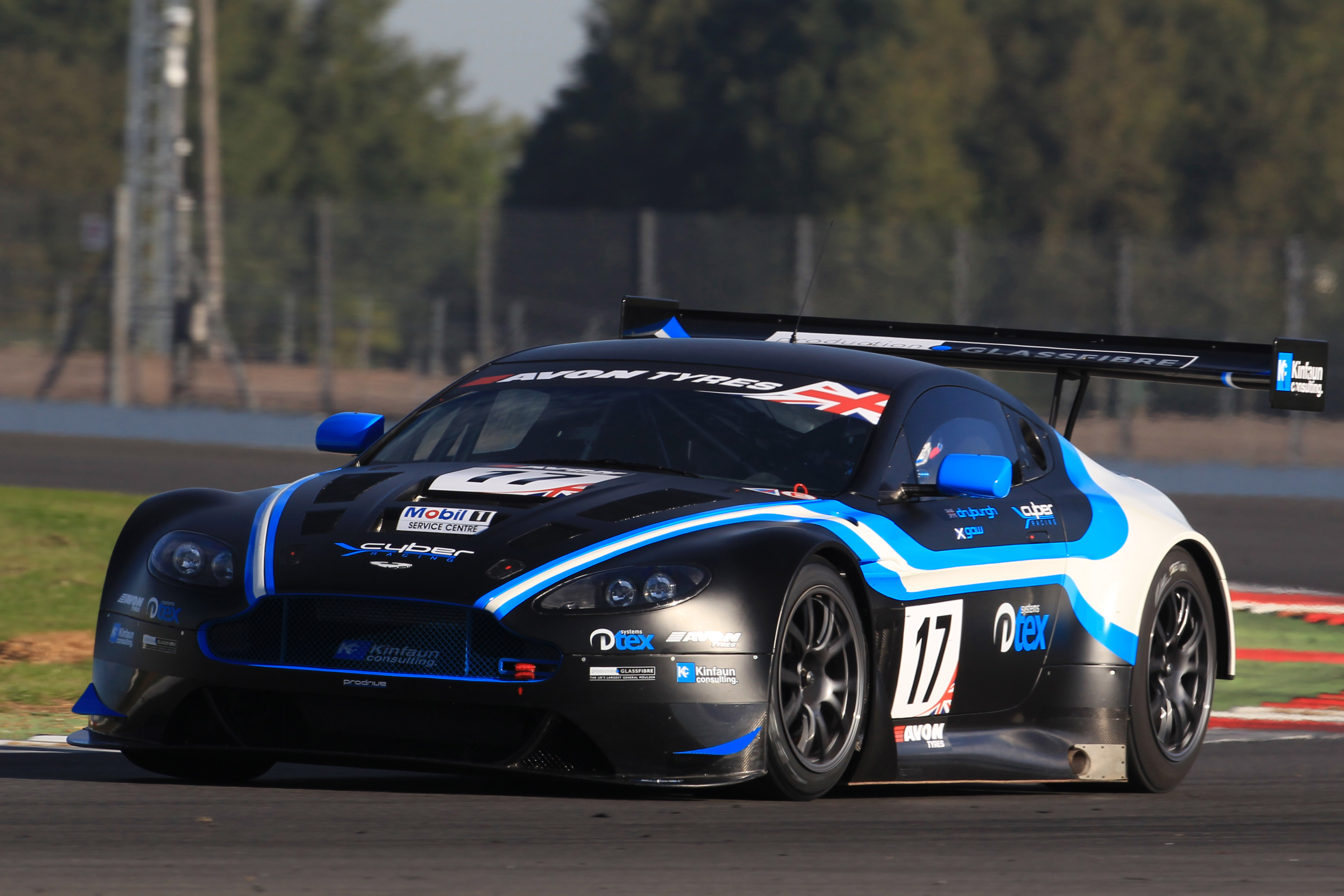 Bgt Pgf Kinfaun Amr Add Yet Another Aston To The 2013 Grid Motor Sport Press