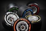 Pirelli F1 tyre range 2013