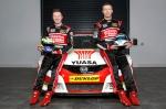 Honda Yuasa Racing Civic with Matt Neal and Gordon Shedden